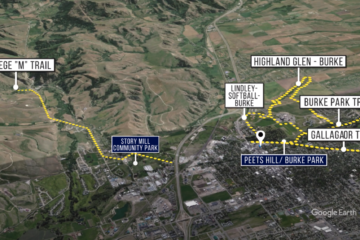 Bozeman Commercial Development Satellite Map Video