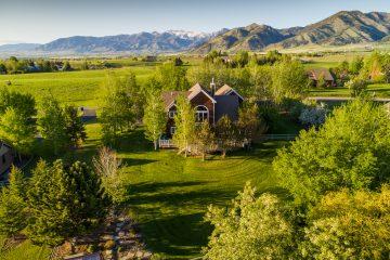 Golden Hour Real Estate Photography Bozeman Montana