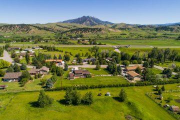 Drone Aerial Images Bozeman Montana