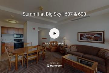 Saul Creative - Summit at Big Sky Units 607 and 608 - Sandy Revisky Purewest Christies International Real Estate - Matterport 3D Virtual Tours Montana