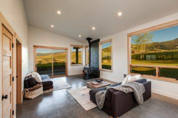 Golden Hour Real Estate Photos Bozeman Montana