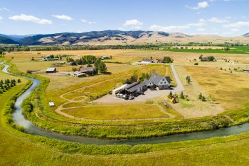 Aerial Real Estate Photography Bozeman Montana