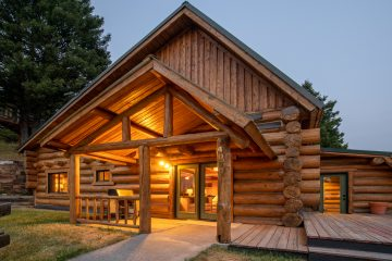 Dusk Real Estate Photography Bozeman Montana
