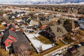 Aerial Photos Bozeman Montana - Saul Creative Real Estate Media
