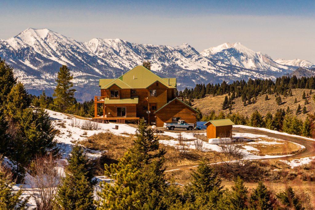 Bridger Mountain Range Views Bozeman Montana