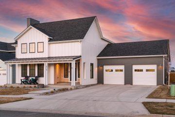 Sunset Real Estate Photography Montana