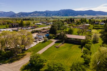 Aerial Drone Real Estate Photographer in Bozeman Montana