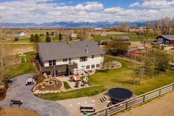 Aerial Real Estate Photos and Video near Bozeman Montana - Saul Creative Media