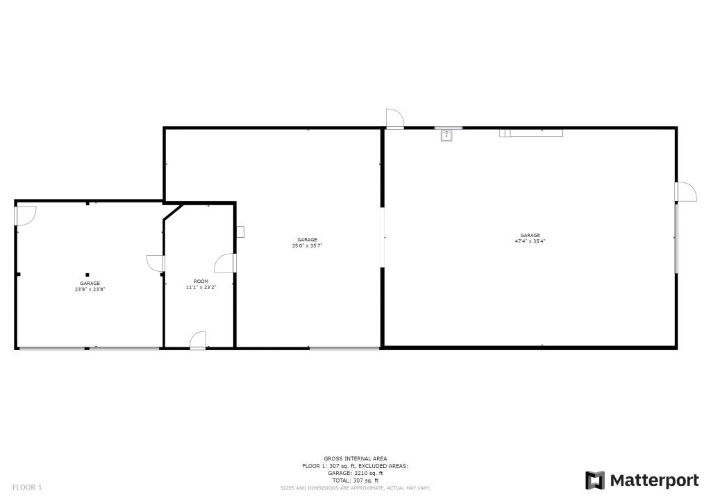 Matterport Schematic Floor Plan 3D Virtual Tour - Bozeman, Montana - Saul Creative