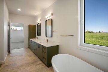 New Home Construction Spec House Bozeman Montana