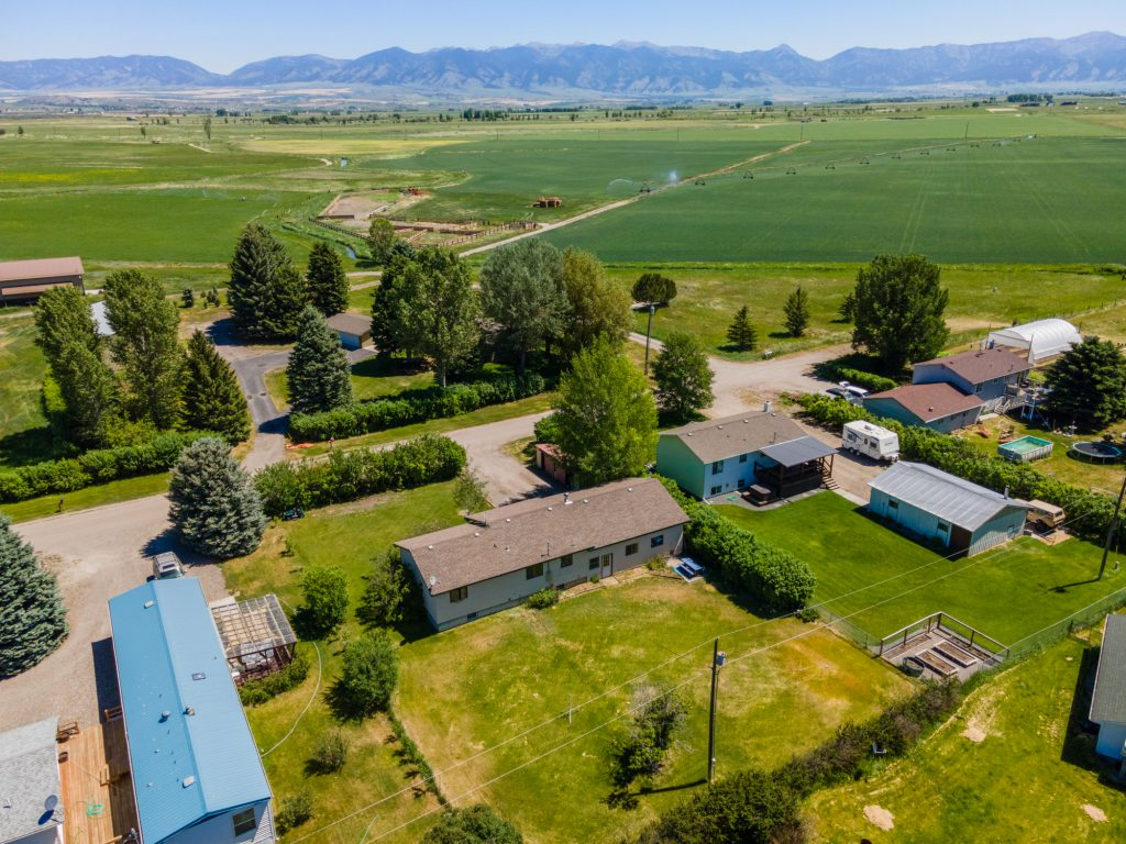 Aerial Photography and Video Services near Bozeman Montana