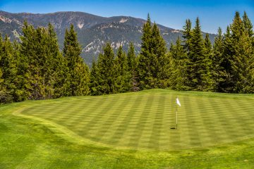 Spanish Peaks Golf Course Big Sky Montana