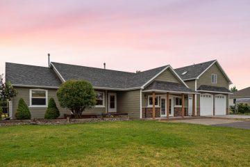 Sunset Real Estate Photography Bozeman Montana