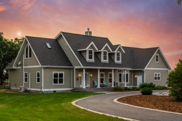 Bozeman Real Estate Dusk Sunset Sky Replacements - Saul Creative Media