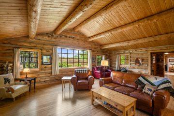 Log Cabins in Bozeman Montana - Saul Creative Real Estate Media