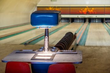 Historical Bowling Alley Whitehall Montana